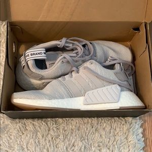 Adidas NMD R2 grey/white (never worn)